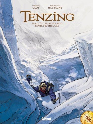 Tenzing : Sur le toit du monde avec Edmund Hillary (Explora) (French Edition)