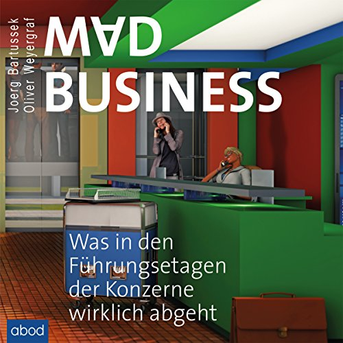 Mad Business audiobook cover art