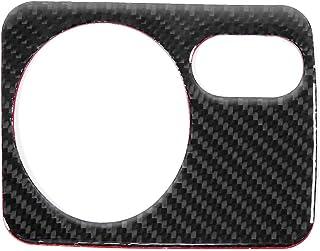 Autoscheinwerfer Schalterverkleidung, Rahmenabdeckung für Carbon Scheinwerfer Schalttafel für Golf 6