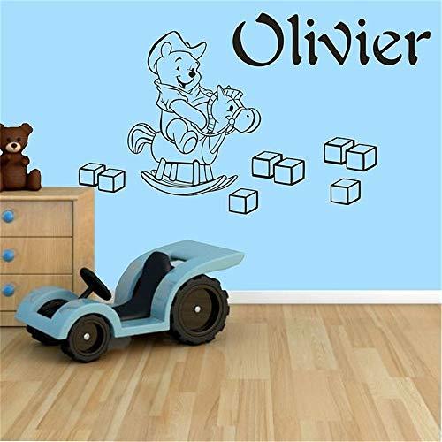 Winnie l'ourson sticker mural Winnie l'ourson chambre d'enfant chambre sticker de décoration murale autocollant pour chambre d'enfants