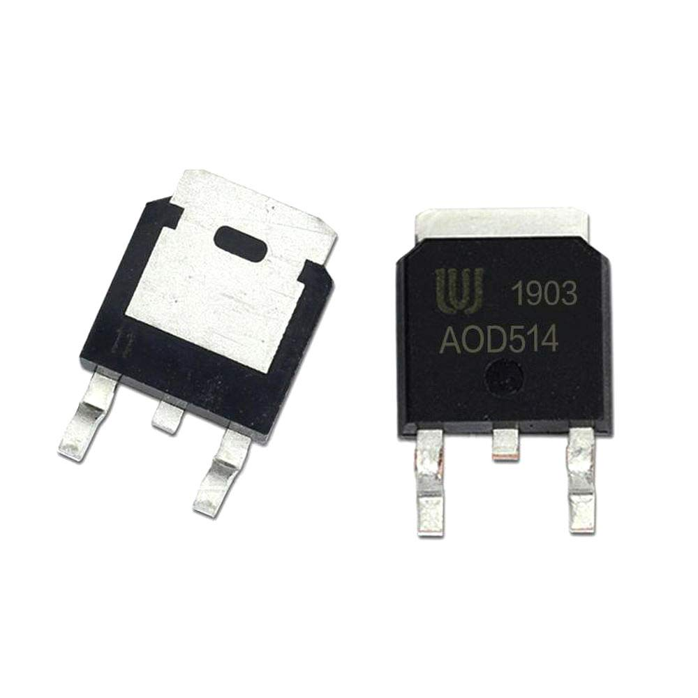10Pcs lot High quality famous AOD514 TO-252 46A D514 30V Mosfet N-Channel