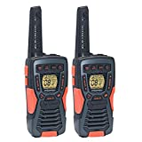 COBRA ACXT1035R FLT Floating Walkie Talkies- Waterproof, Rechargeable, Long Range up to 37...