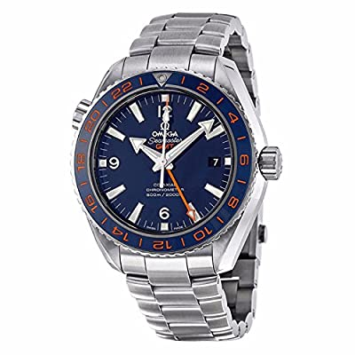 Omega Planet Ocean Blue Dial Stainless Steel Mens Watch 232.30.44.22.03.001