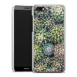 Coque Compatible avec Huawei Y5 2018 Étui Housse Design Abstrait Cactus