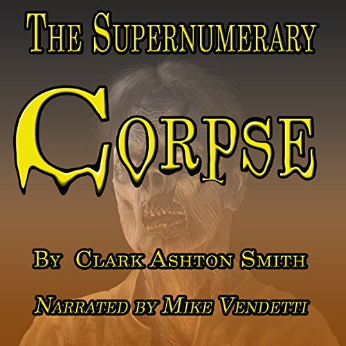 The Supernumery Corpse audiobook cover art