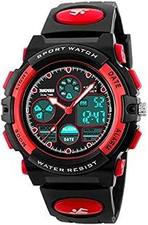 Kid's Digital Watch Outdoor Sports 50M Waterproof Electronic Watches Alarm Clock 12/24 H Stopwatch Calendar Boy Girl Wristwatch