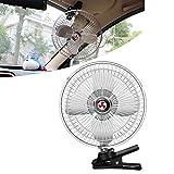 NOUVEAU Ventilateur de Voiture 12V Ventilation Refroidissement Auto Ventilateur...