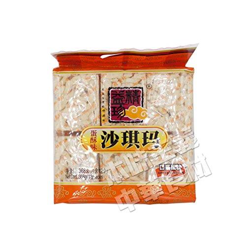 精益珍蛋酥味沙其瑪 卵味 サチマ お菓子 中華食材 368g