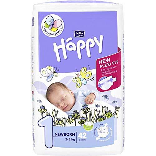 BELLA BABY HAPPY NEWBORN taglia 1 (2-5kg) 42 pezzi