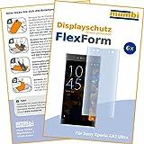 mumbi Flex Schutzfolie kompatibel mit Sony Xperia XA2 Ultra Folie, Bildschirmschutzfolie (6X)