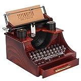 Hztyyier Mini Carillon, 5,3 * 5,7 * 4,3 in Forma di Macchina da Scrivere Carillon Decorazi...