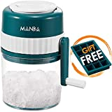 MANBA Ice Shaver and Snow Cone Machine - Premium Portable Ice Crusher and Shaved Ice Machine with...