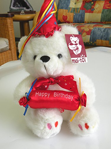 "Eastern Cloud Stuffed Animal - Plush is a Soft and Huggable Companion That Makes a Lifelong Friend. Sitting 7"" x 12"" Tall ! Happy Birthday !"