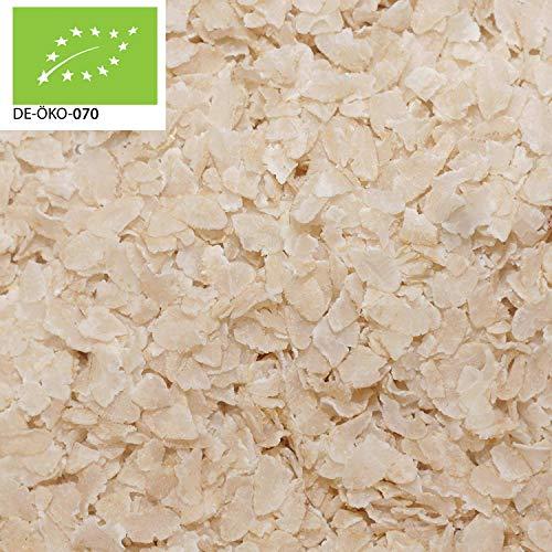 12,99€ (12,99€ pro 1kg) 1000g Bio Reisflocken grob aus Italien Glutenfrei | 1 kg | für Müsli und Brei 100% Naturprodukt | gesunder Snack | kompostierbare Verpackung | DE-ÖKO-070 - STAYUNG