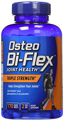 Osteo Bi-Flex Triple Strength with 5-Loxin Advanced Joint Care - 4 Bottles, 170 Tablets Each (Osteo Bi Flex Triple Strength With 5 Loxin)
