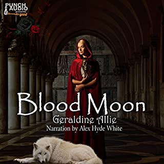 Blood Moon     Werewolves And Shifters, Book 1              By:                                                                                                                                 Geraldine Allie                               Narrated by:                                                                                                                                 Alex Hyde-White                      Length: 1 hr and 29 mins     53 ratings     Overall 3.6