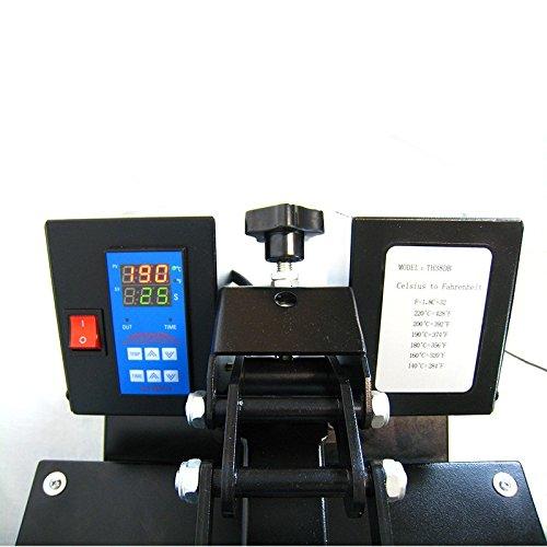 HobbyCut AA1-S Transferpresse 38cm x 38cm Textilpresse 2000 Watt Modell 2016 - 3