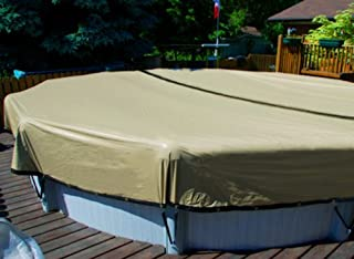 28' Round Above Ground Swimming Pool ULTIMATE ARMORKOTE Winter Cover-12 Year
