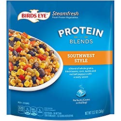 Birds Eye Steamfresh Protein Blends Frozen Sides, Southwest Style with whole grains, veggies and sau
