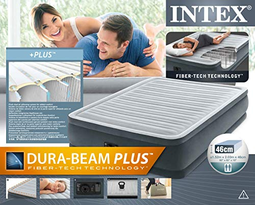 Intex Colchón hinchable Fibertech Comfortplush - 11