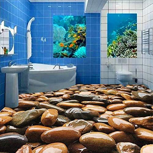 3D-Tapete, selbstklebend, PVC, für Badezimmer, Küche, Hotel, wasserdicht