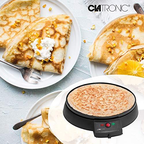 Clatronic CM 3372 Máquina de hacer crepes, tortitas, tortillas ...