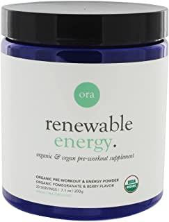 ora renewable energy pre workout
