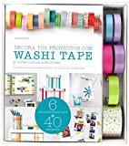 Kit Decora tus proyectos con washi tape: y otras cintas adhesivas [Lingua spagnola]