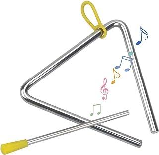 Triangulo Percusion Instrumentos,Juguete Infantil Triangular Musical,Para Educación Musical Temprana, Aprendizaje De Músic...