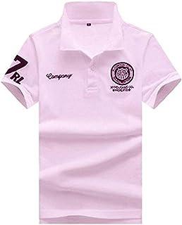 SHEYA ポロシャツ メンズ 半袖 ボタンダウン 胸刺繍 スポーツ ウェア ゴルフウェア メンズ ポロシャツ