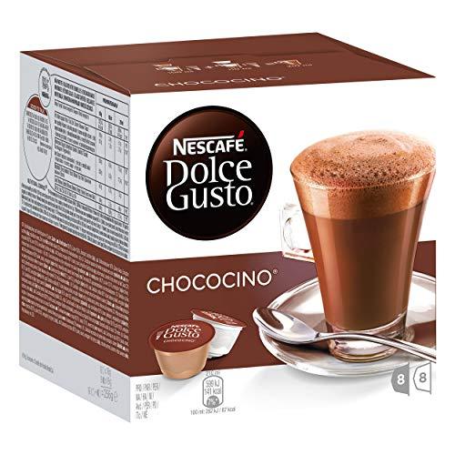 Nescafé Dolce Gusto Chococino Kakao 5er Set, Kakaokapsel, Schokolade, 16 Kapseln (8 Portionen)