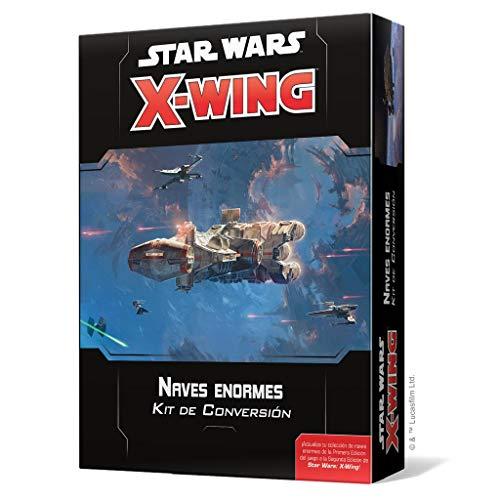 Fantasy Flight Games- Star Wars X-Wing 2.0: Naves enormes Kit de Conversión,...