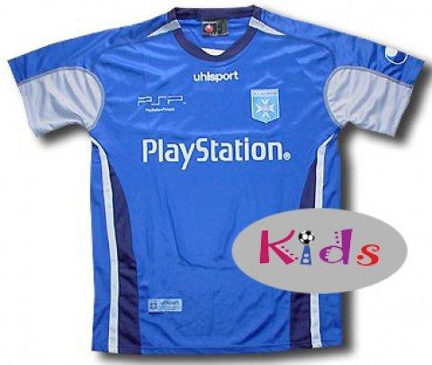 AJ Auxerre Away Trikot Sponsor Playstation Kinder (12 Years)