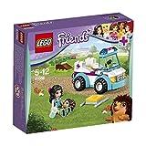 LEGO Friends - 41086 - Jeu De Construction - L'ambulance Vétérinaire