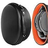 Geekria Funda para Auriculares Skullcandy Crusher ANC, Crusher Wireless, Hesh 3, Crusher 360, Venue Wireless ANC Over-Ear Headphones, Estuch Rígido de Transporte