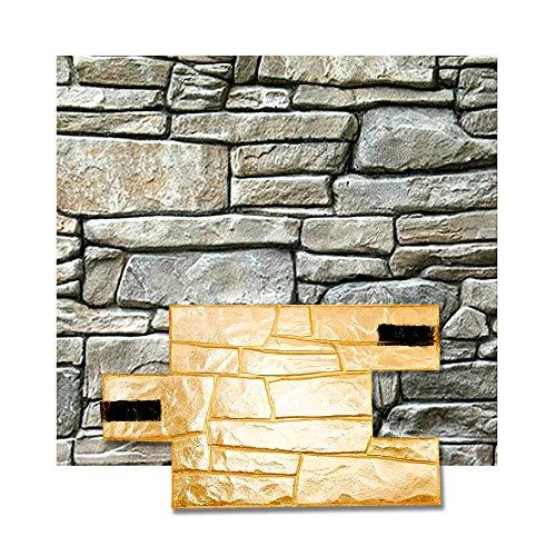 Granite Mat Stamp Texturing Skin Slate Pattern Stone Decorative Concrete Cement Imprint Texture Stamp Mat Polyurethane Stamping