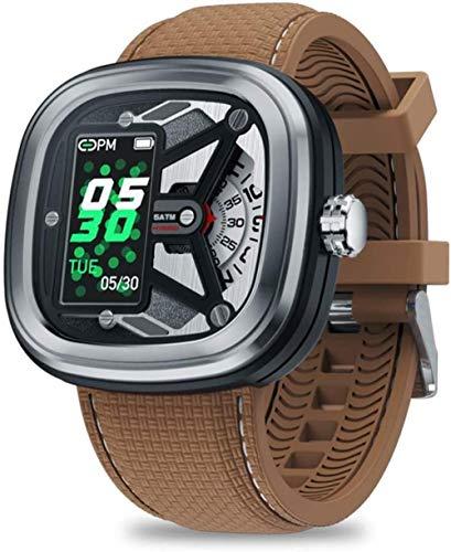 Reloj inteligente híbrido de moda 2 0.96 50 m impermeable con frecuencia cardíaca y control de presión arterial reloj mecánico para hombres ser diferente-B