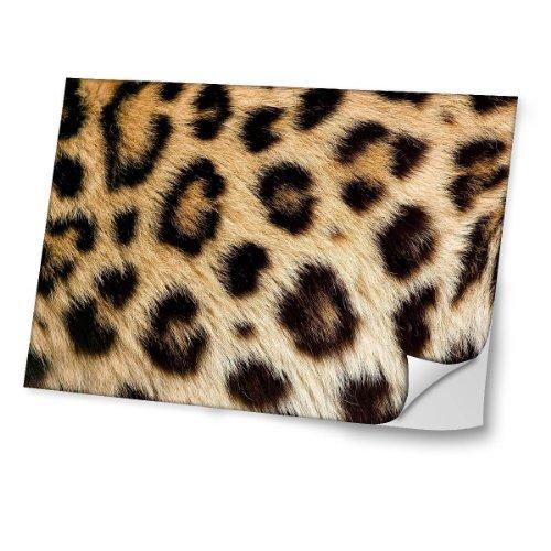 """Virano Wilde Tiere 10104, Leopard, Skin-Aufkleber Folie Sticker Laptop Vinyl Designfolie Decal mit Ledernachbildung Laminat und Farbig Design für Laptop 11.6\"""""""