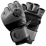 Hayabusa Tokushu Regenesis 4oz MMA Gloves, Black/Grey, X-Large