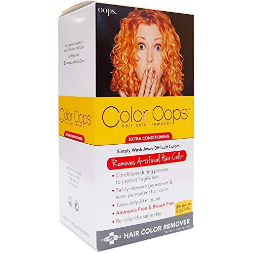 Color Oops Hair Color Remover Extra Conditioning 1 Each (Pack of 5)