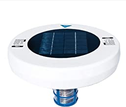 URFEDA Solar Pool Ionizer Pool Onderhoud Kits met Borstel Koper Zilver Ionisator Langere Duurzame Koper Anode doodt Algen ...