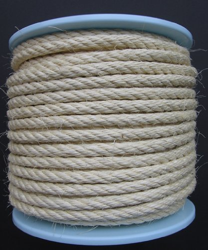 Sisalseil mit einem Durchmesser von 10 mm und 50 m