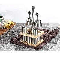 fgcvn olio, aceto, sale e pepe olio e aceto set,menage olio/aceto/sale/pepe, set e stand di sale, pepe, olio e aceto-stile 10