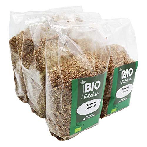 BioKitchen - Graines de lin bio en poudre (6x500g)