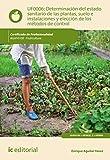 Determinación del estado sanitario de las plantas, suelo e instalaciones y elección de los métodos de control. AGAF0108 - Fruticultura