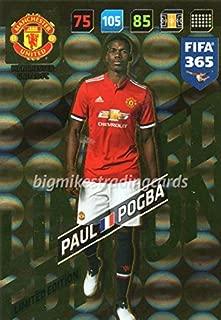 FIFA 365 2018 - PAUL POGBA LIMITED EDITION CARD, PANINI ADRENAYLN XL, MAN UTD