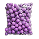 Lakikey Beer Ping Pong Balls 150PCS Plastic Training Table Tennis Balls 40mm Assorted Colors Decoration Balls Lottery Game Toys Balls (Purple)