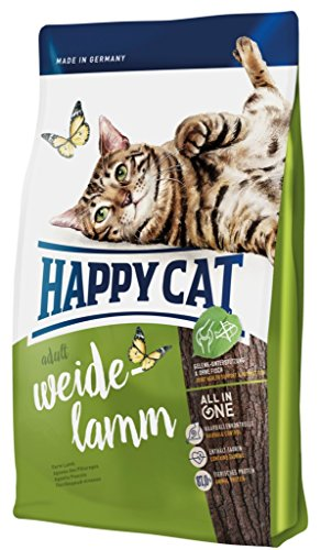 Happy Cat Katzenfutter 70031 Adult Weide-Lamm 4 kg