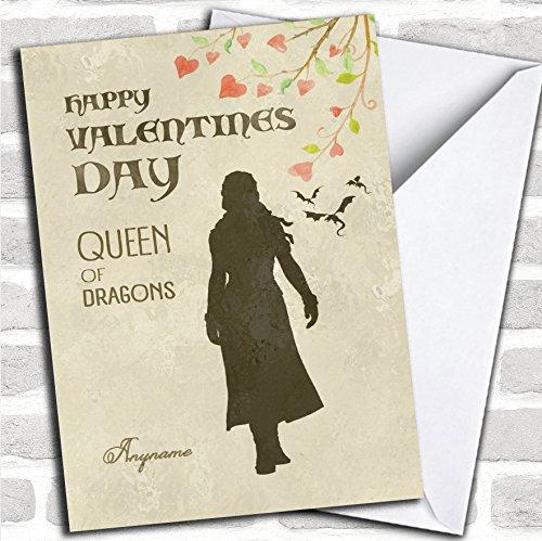 Game Of Thrones koningin van draken Valentines groeten kaart