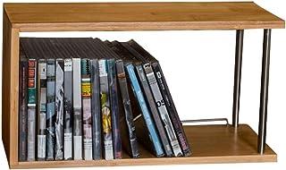 Nai-storage Sólido Soporte de Madera de Escritorio, DVD PS4 CD del Juego de Discos de Almacenamiento Horizontal del álbum Rack - Salón Bar Hotel BLU-Ray Disc de Almacenamiento en Rack Decoración